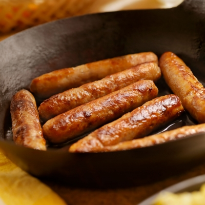Co-extrusion sausages