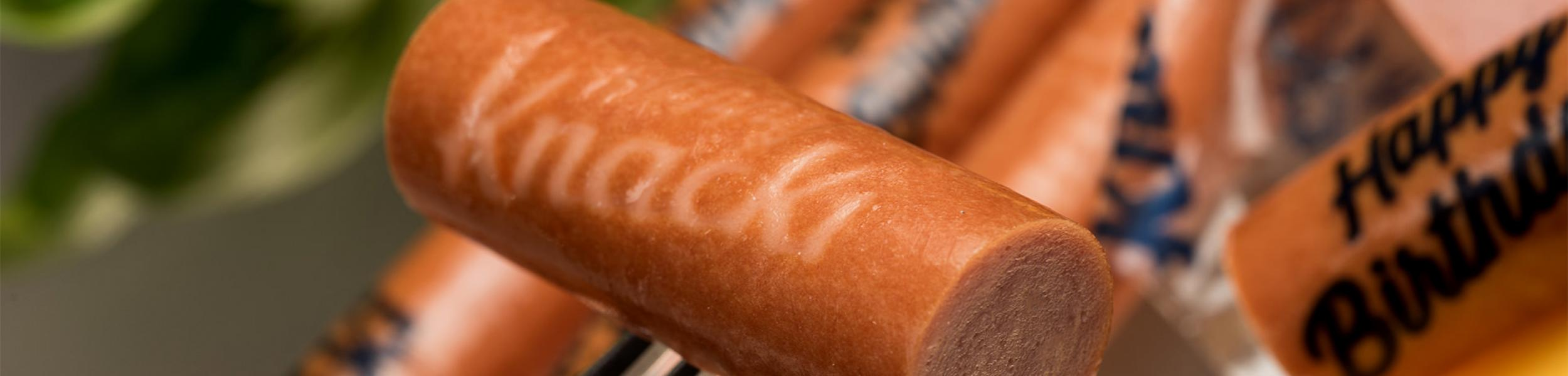 Cellulose sausage casing Logoprint