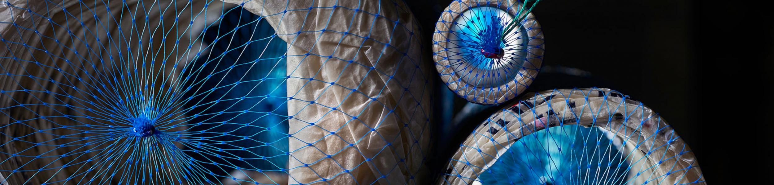 Fibrous Spiral Shirring